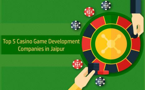 Top 5 Casino Game Development Companies in Jaipur