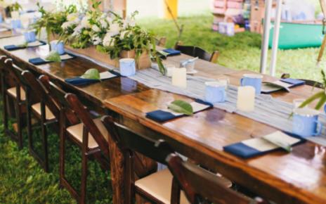 Chairs Farm Table Rentals