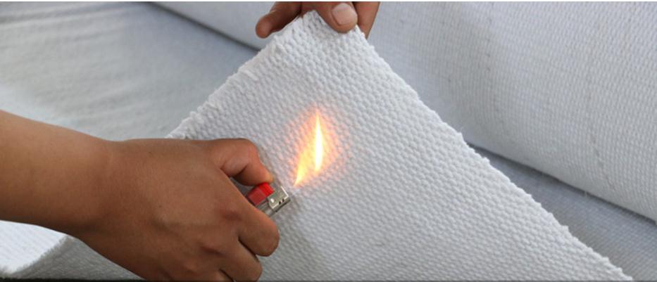 Flameproof fabric