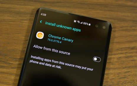 Install from Unknown Source Android Pie