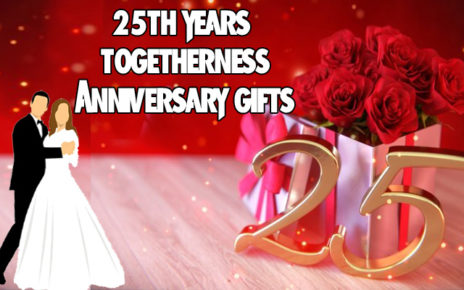 When you cross 25th year of togetherness choose these Anniversary gifts