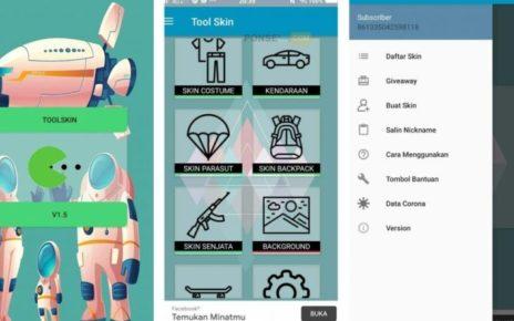 Free Fire Skins using Tool Skin App