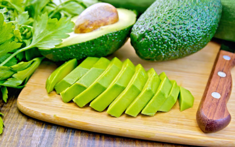 bigstock Avocado slices on board 88682918