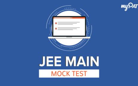 Blog images JEE MAIN mock test 1