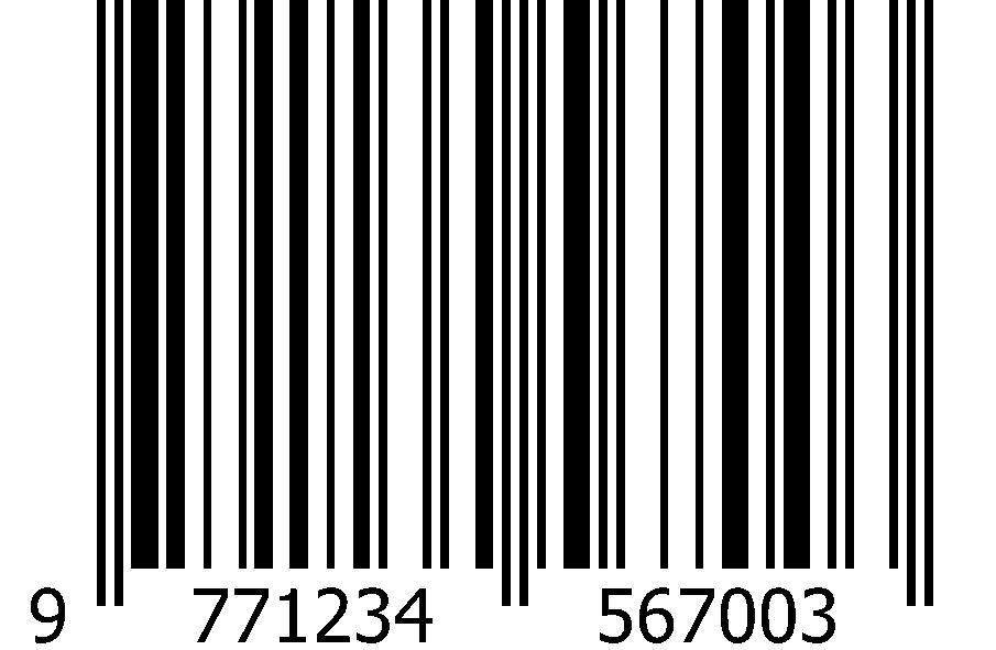 ISSN barcode