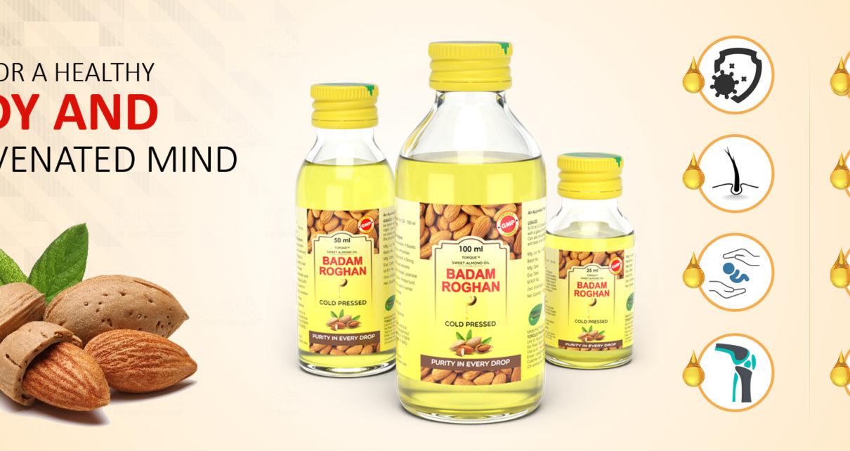 badam rogan oil for hair